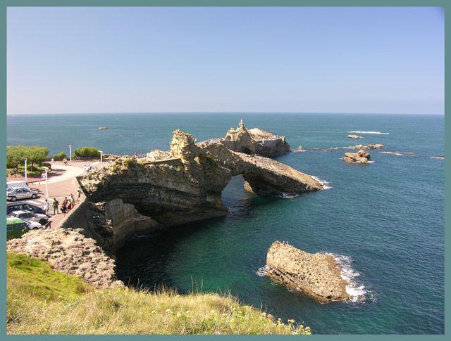 Zdjęcia: Biarritz, Akwitania, Dziura, FRANCJA