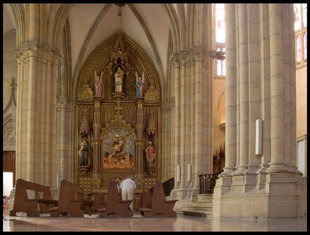 Zdjęcia: Biarritz, Akwitania, Boczna kaplica, FRANCJA