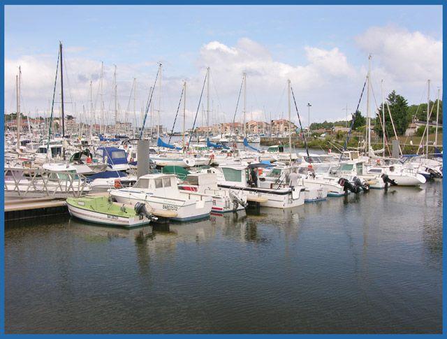 Zdjęcia: Capbreton, Akwitnia, Port jachtowy, FRANCJA