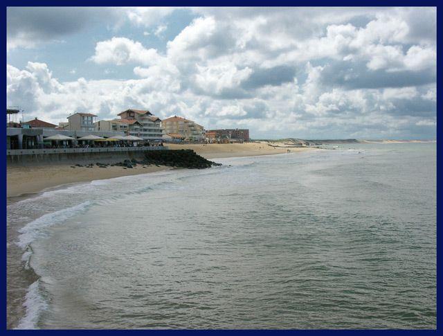 Zdjęcia: Capbreton, Akwitania, Plaża, FRANCJA