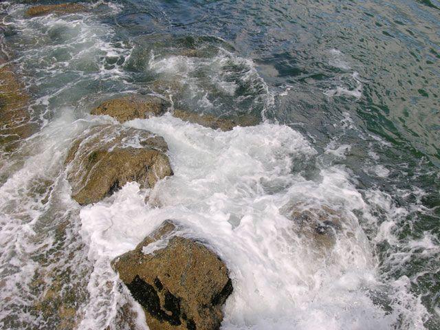 Zdjęcia: Capbreton, Akwitania, Przypływ, FRANCJA