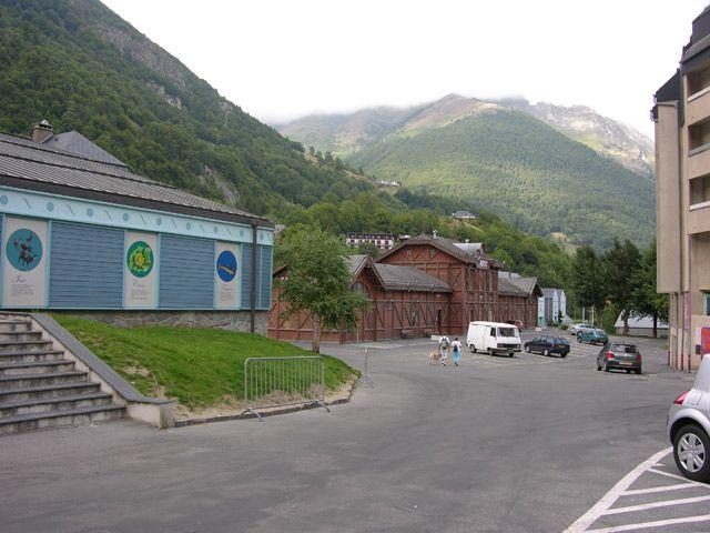 Zdjęcia: Cauterets, Midi-Pyrénées, Dworzec, FRANCJA