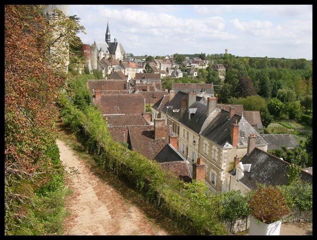 Zdjęcia: Montresor, Panorama miasta, FRANCJA