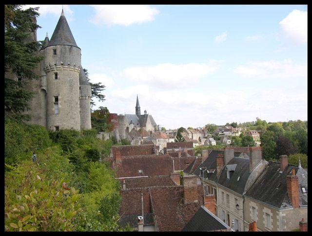 Zdjęcia: Montresor, Widok na miasto, FRANCJA