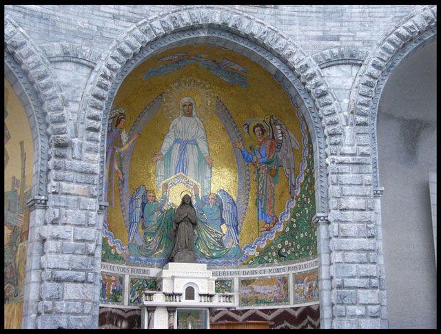 Zdjęcia: Lourdes, Kapliczka, FRANCJA