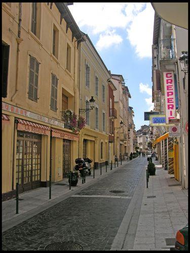 Zdjęcia: Lourdes, Uliczka, FRANCJA