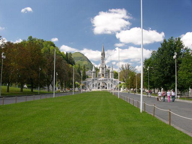 Zdj�cia: Lourdes, Sanktuarium, FRANCJA