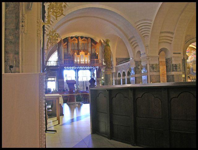Zdjęcia: Lourdes, Organy, FRANCJA