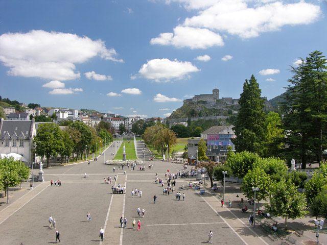 Zdjęcia: Lourdes, Dojście, FRANCJA