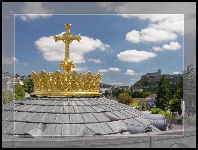 Zdjęcia: Lourdes, Korona, FRANCJA