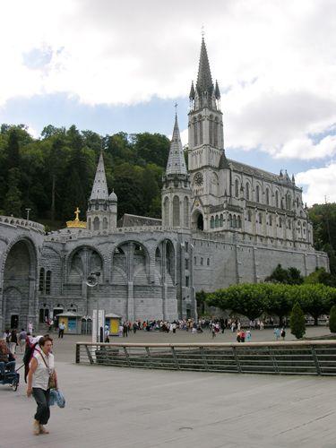 Zdjęcia: Lourdes, Sanktuarium, FRANCJA