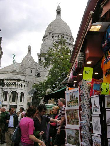 Zdj�cia: Pary�, Sacre - Coeur, FRANCJA