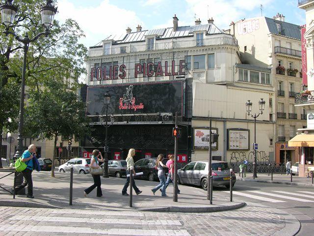 Zdjęcia: Paryż, Plac Pigalle, FRANCJA