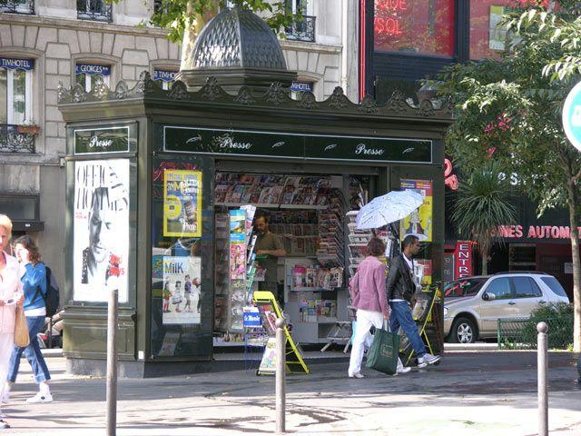 Zdj�cia: Pary�, Kiosk RUCHU, FRANCJA