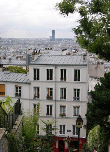 Zdjęcia: Paryż, Widok z Montmartre, FRANCJA