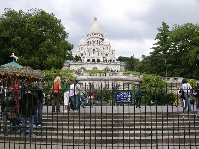 Zdj�cia: Pary�, Sacre Coeur, FRANCJA