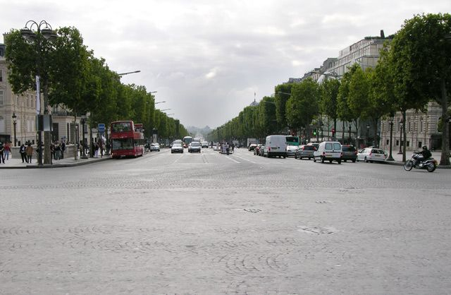 Zdj�cia: Pary�, Au Champs Elis�e, FRANCJA