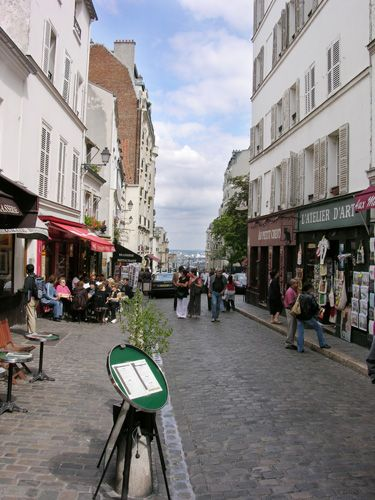 Zdjęcia: Paryż, Butte de Montmar, FRANCJA