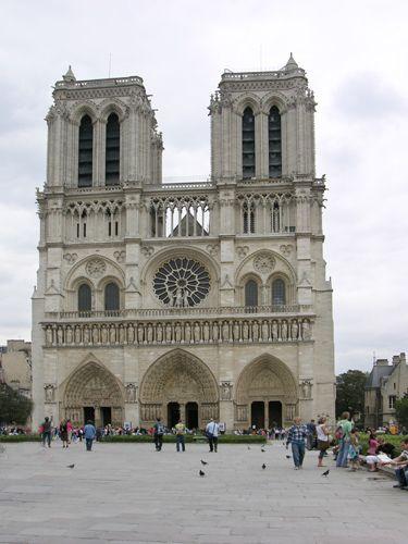 Zdjęcia: Paryż, Notre-Dame, FRANCJA