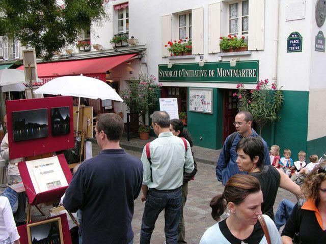 Zdjęcia: Paryż, Na Montmartre, FRANCJA