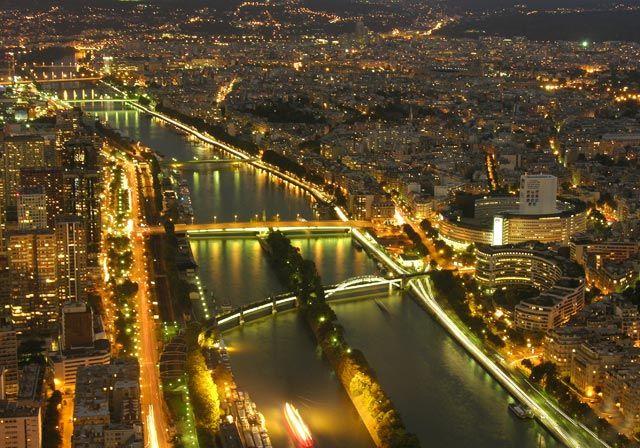 Zdjęcia: Paryż, Nocny Paryż, FRANCJA