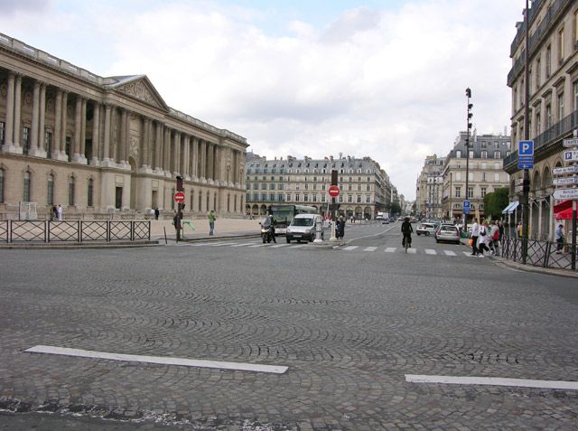 Zdjęcia: Paryż, Okolice Luwru, FRANCJA