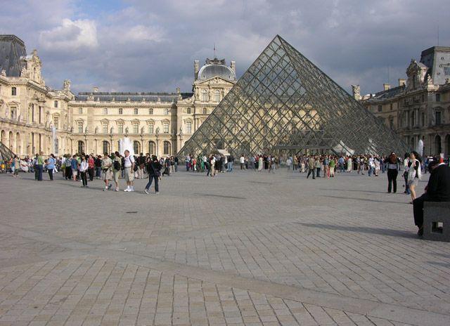 Zdjęcia: Paryż, Piramida Pei , FRANCJA