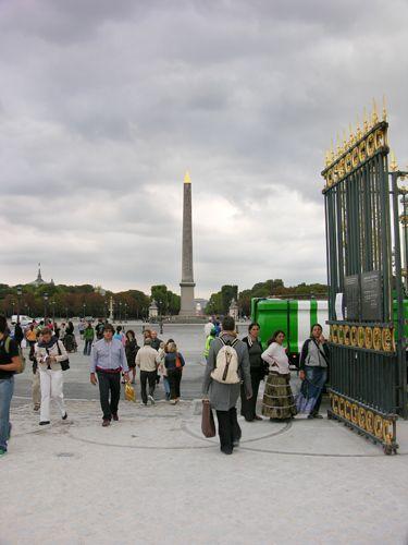 Zdj�cia: Pary�, Obelisk na Placu Zgody, FRANCJA