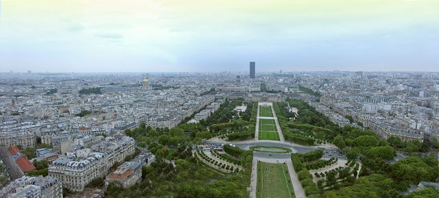 Zdjęcia: Paryż, Panorama Paryża, FRANCJA