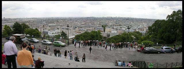 Zdj�cia: Pary�, Panorama z Sacre Coeur, FRANCJA