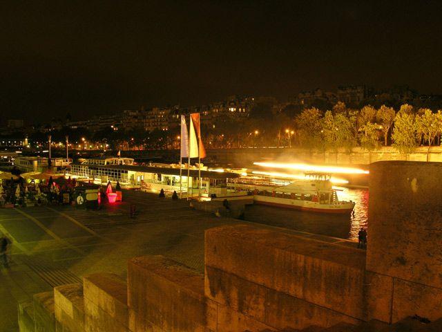 Zdjęcia: Paryż, Sekwana nocą, FRANCJA