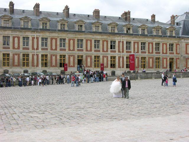 Zdjęcia: Paryż, Ślub w Wersalu, FRANCJA