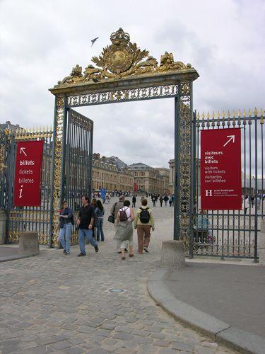 Zdjęcia: Paryż, Brama do Wersalu, FRANCJA