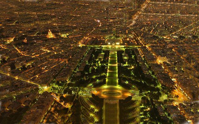 Zdjęcia: Paryż, Z wieży Eifla, FRANCJA