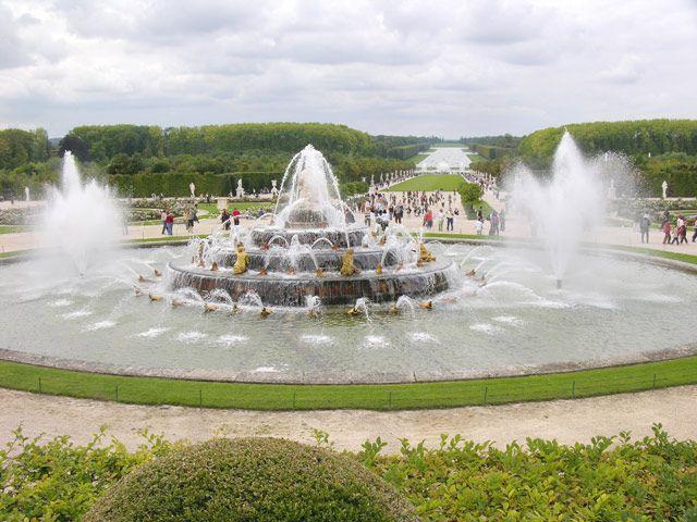 Zdjęcia: Paryż, Fontanna Wersal, FRANCJA