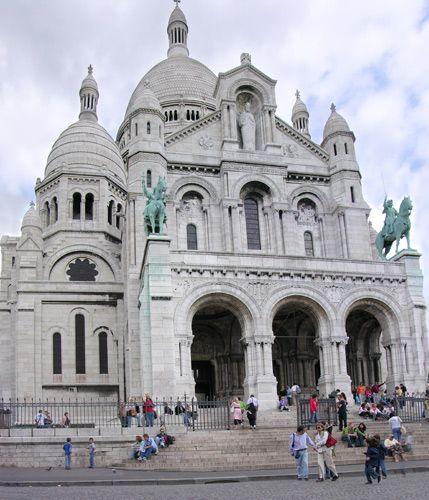 Zdjęcia: Paryż, Bazylika, FRANCJA