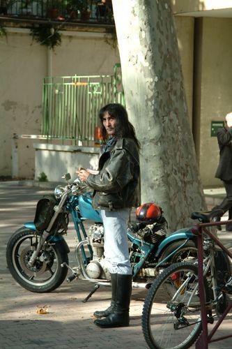Zdjęcia: Narbonne, Langwedocja, nie ma jak motor ...., FRANCJA