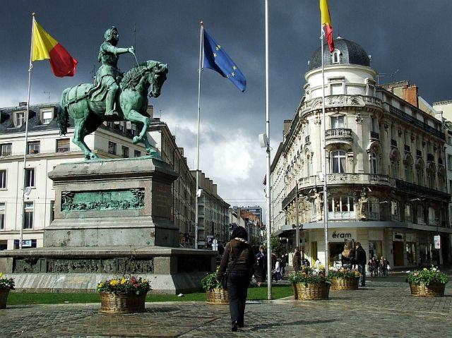 Zdjęcia: Orlean, plac Joanny d'Arc, FRANCJA