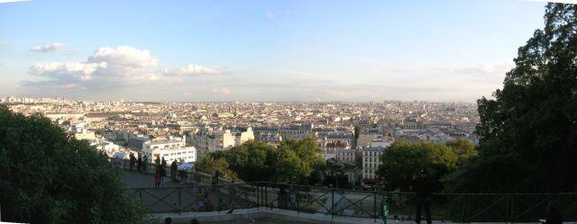 Zdjęcia: Paris , Francja pólnocna, Panorama miasta z Sacre Coeur, FRANCJA