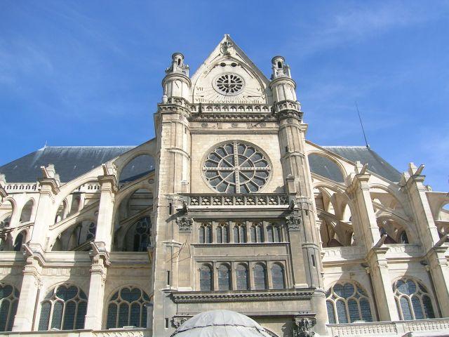 Zdjęcia: Paryz, Fr.płnocna, Kościół St. Eustache, FRANCJA