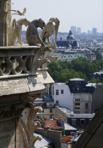 Zdjęcia: Paryż, Paryż, Chimery, FRANCJA