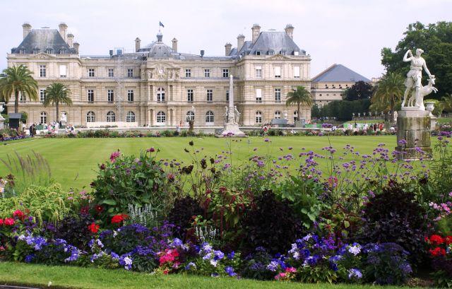 Zdj�cia: Pary�, Pary�, Pa�ac Luksemburski, FRANCJA