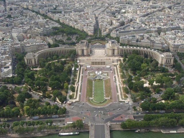 Zdjęcia: Paryż, Widok z wieży Eiffela, FRANCJA