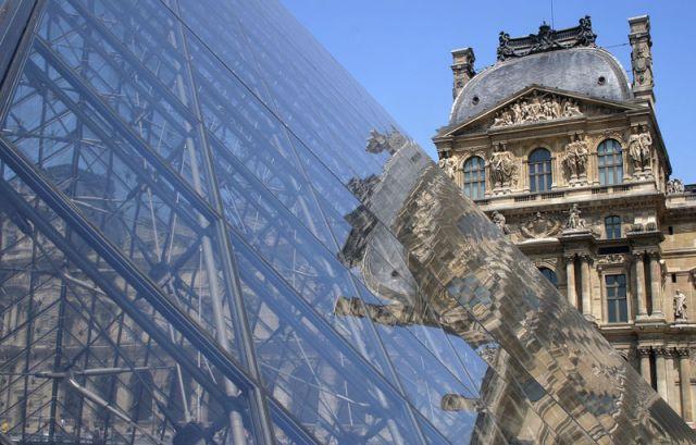 Zdj�cia: Pary�  Luwr, LUWR, FRANCJA
