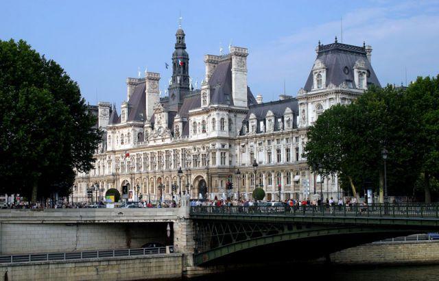 Zdjęcia: Paryż  Siedziba Mera, Merostwo, FRANCJA