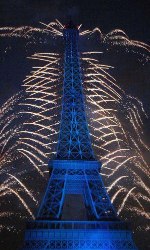 Zdjęcia: Paryż 15 lipca, Niebieski, FRANCJA