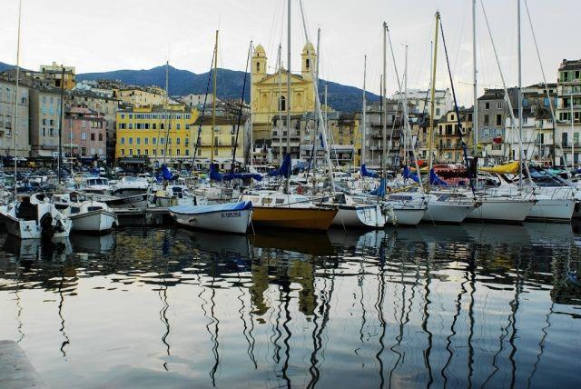 Zdjęcia: Bastia, Korsyka, Stary Port, FRANCJA