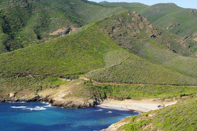 Zdjęcia: Cap Corse, strona zachodnia, Korsyka, Dziki Cap Corse, FRANCJA