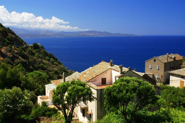 Zdjęcia: Cap Corse, strona zachodnia, Korsyka, Zatoka, FRANCJA