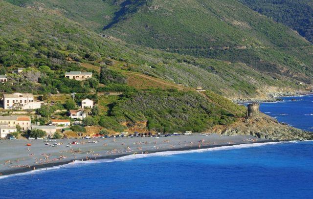 Zdj�cia: Cap Corse, strona zachodnia, Korsyka, Zatoczka, FRANCJA